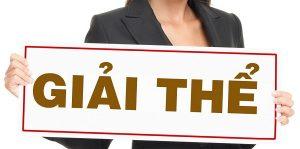 Thủ tục giải thể chi nhánh, văn phòng đại diện theo quy định của pháp luật